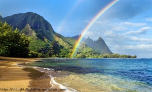 Sea and Rainbow