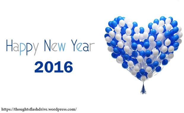 Happy New Year 2016 With Happiness & Love